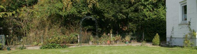 Blick zur Einfahrt Oktober 2008